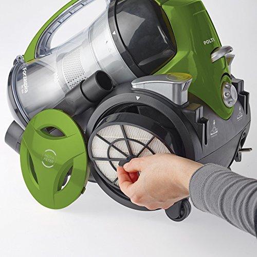 Polti Forzaspira MC330 Turbo - Aspirador sin bolsa multiciclónico con filtro EPA