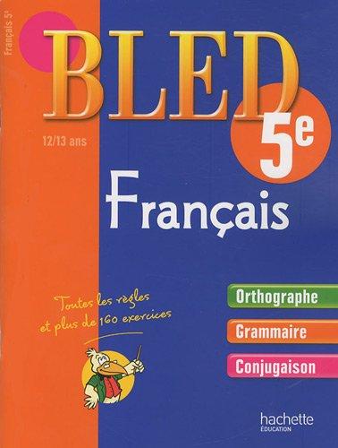 Français 5e : 12-13 ans