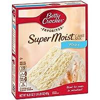 Betty Crocker Super Moist White Cake Mix - 432 gr