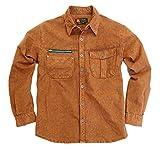 Kakadu Traders Australia - Camisa Casual - para Hombre Brick Large