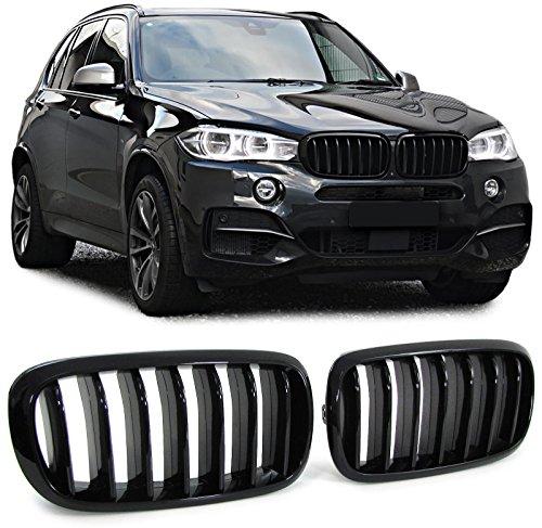 Preisvergleich Produktbild Carparts-Online 28676 Sport Nieren Kühlergrill schwarz glänzend