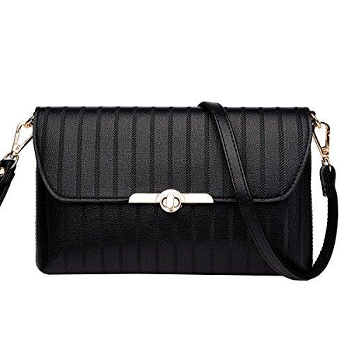 Damen Handtasche Pack Tasche Handtasche Umschlag Tasche Schulter Diagonale Paket,1-OneSize Laidaye