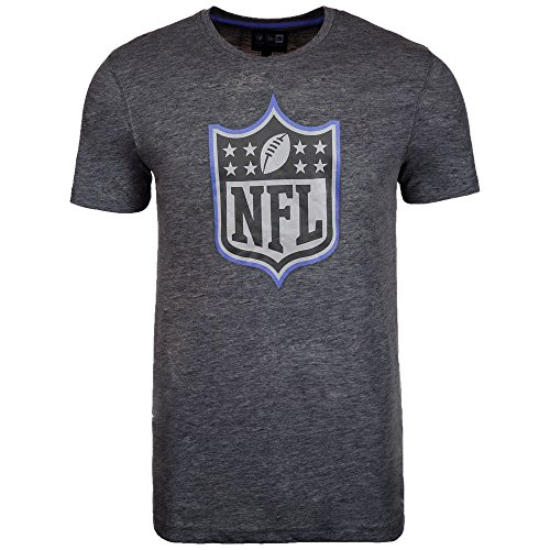 New Era Two Tone Pop T-Shirt Herren NFL Logo Grau, Größe:L -