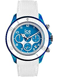 50e270f09bcb Ice-Watch - ICE dune Superman blue - Reloj bianco para Hombre con Correa de  silicona - Chrono - 014224…