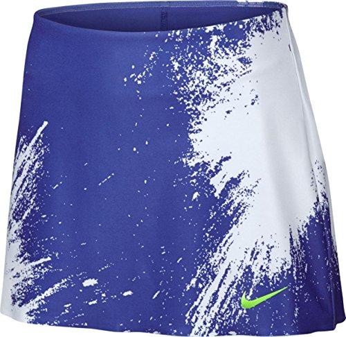 Nike Damen Court Power Spin Tennis Skirt Women Röcke, blau, M Court Womens-rock