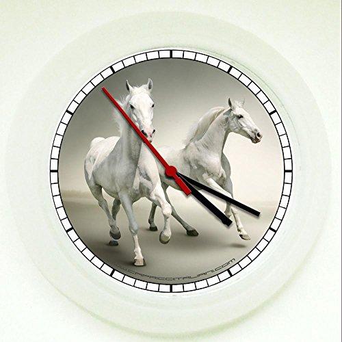 Horloge murale Chevaux...