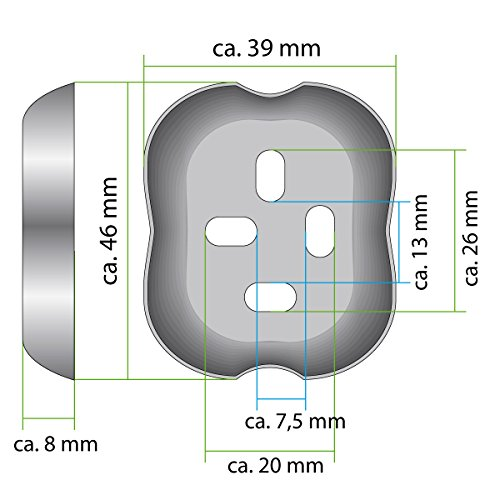 bremermann bad serie lucente toilettenpapierhalter 2in1 aus verchromtem edelstahl - Freistehender Toilettenpapierhalter Mit Lagerung