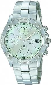 Seiko Quarz Damen-Armbanduhr Chronograph SNDZ69P1
