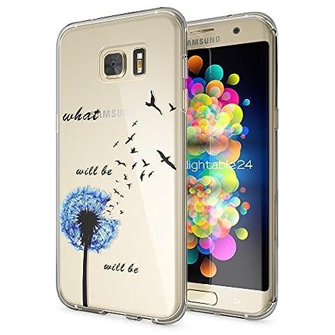 Samsung Galaxy S7 Edge Hülle Handyhülle von NICA, Slim Silikon