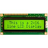 LCD 16x2 Alphanumeric Display(JHD162A) for 8051,AVR,Arduino,PIC,ARM All (Yellow)