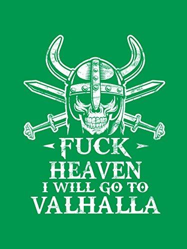 clothinx Herren T-Shirt Go to Valhalla Kelly Green