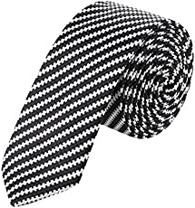 Bright Creation Formal Tie for Men Black-BC045