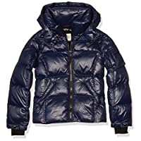 S13 Girls' Mogul Down Puffer, MARINE, 12