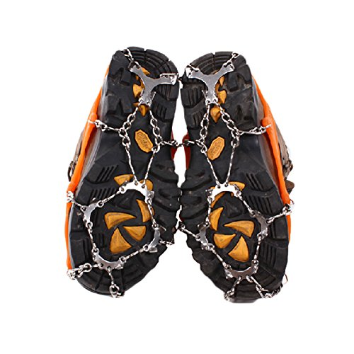 Hiver traction Pro Grips Paire de chaussures à crampons antidérapants pour neige et glace