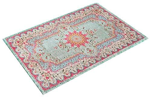 Rozenkelim.nl Pastell Vintage Teppich | im Angesagten Shabby Chic Look | für Wohnzimmer, Schlafzimmer, Flur Etc. | Pastell (225 x155 cm)