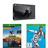 Xbox One X 1TB Konsolen Bundle + Playerunknown's Battlegrounds [Xbox One] + FIFA 19 - Standard...