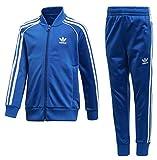 adidas Kinder Trefoil Sst Trainingsanzug, Blue, 122