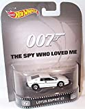 hotwheels 007 the spy who loved me white lotus esprit S1 car 1.64 scale model