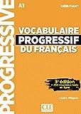 Vocabulaire progressif du français - Niveau débutant - 3ème édition - Livre + CD + Appli-web...
