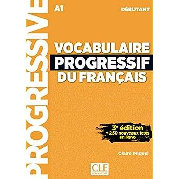Vocabulaire progressif du français - Niveau débutant - Livre + CD + Appli-web - 3ème édition