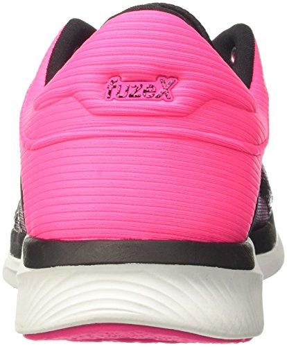 Asics Fuzex Rush, Scarpe da Ginnastica Donna Rosa (Hot Pink/Black/White)