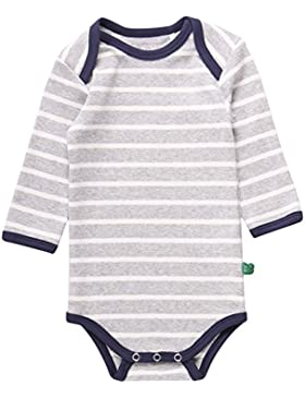 Fred's World by Green Cotton Unisex Baby Body Stripe L/Sl