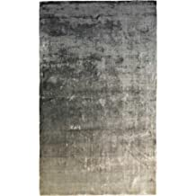 Designers Guild Alfombra Moderna Eberson Slate Gris 200x300 cm