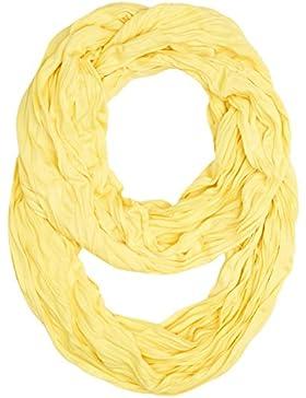 Masterdis Wrinkle Loop bufanda bufanda, unisex, 10054, amarillo, talla única