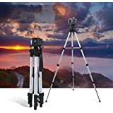Die Hard™, Tripod TF- 330A Pro Professional High Quality Tripod | Aluminum Tripod Stand For Digital Camera Camcorder And Mobile Holder | Tripod Stand For Mobile Phone Clip ,Suitable For Most Digital Cameras And Camcorders With Moderate Weight Maximu