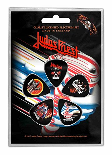 Judas Priest Turbo Plektrum - Pack Plektren