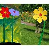 Fun. Jardín hierba césped aspersor Jet Crazy Flower Daisy amarillo