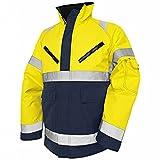Blakläder 4827197733894XL Winterjacke High-Vis Klasse 3 Größe 4XL in gelb/Marineblau