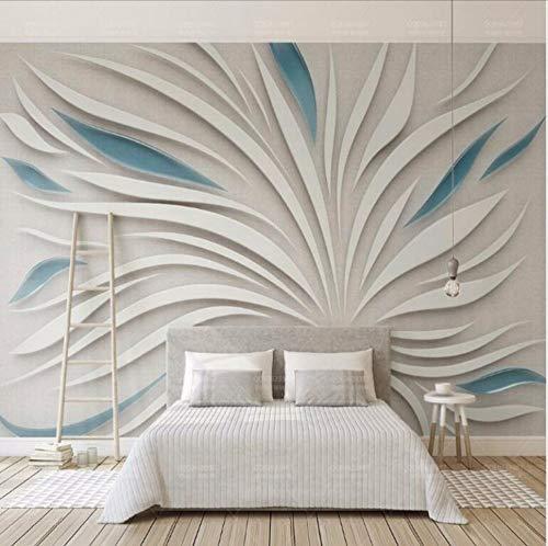 Dalxsh Petali Astratti 3D Wallpaper Per Pareti Sfondo 3D Pittura Sfondi Murali Home Improvement-120X100Cm