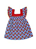 Always Kids Blue Kensigton Sunday Market Dress 8y