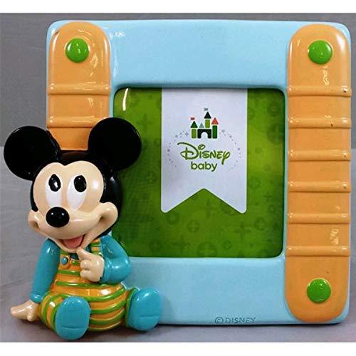 Car bomboniere oggetti per sempre wd portafoto mickey baby, plastica,, 10x17x16 cm
