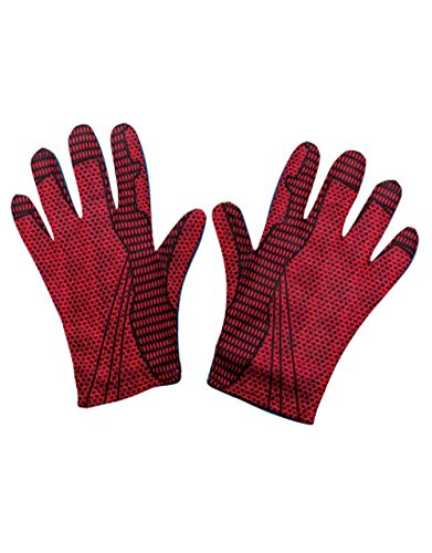 Spider Man Handschuhe, Kinder The Amazing Spider-Man Kostüm (Amazing Kinder Kostüme Spiderman)