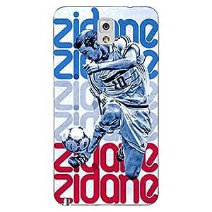 Jugaaduu Real Madrid Zidane Back Cover Case For Samsung Galaxy Note 3 N9000