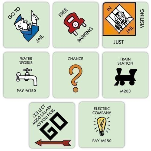 monopoly-board-game-coaster-set