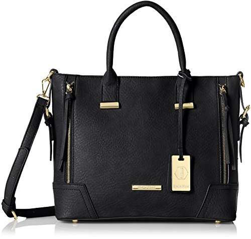 Stella Ricci Women's  Shoulder Bag (Black) (SR160HBLK)