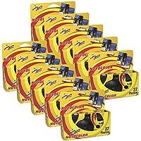 Novocolor - Cámaras deshechables con Flash (27 exposiciones con Flash) 10 Unidades