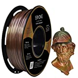 Eryone PLA Filament Steampunk Rainbow, Rainbow Filament PLA 1.75mm, Metallic and Multicolor PLA Filament for 3D printer 1kg 1 Spool