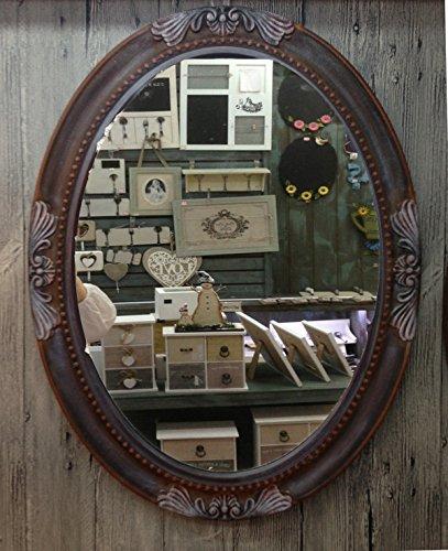 charma nter rústico 80cm madera espejo de pared 18–6Espejo Antiguo perchero Espejo Piso Espejo barroco