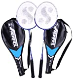 #2: Silver's Sb-818 Badminton Racquet, 2 pieces with cover