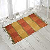 #10: The Home Talk multicolor cotton rug (multi-purpose, reversible), 3 feet x 5 feet