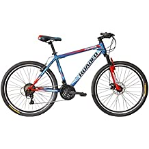 Hercules Roadeo Fugitive 26T 21 Gear Steel Hybrid Cycle (Blue) 17inch Frame