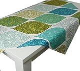 beties Momente Tischdecke ca. 140x240 cm in interessanter Größenauswahl hochwertig & angenehm 100% Baumwolle Farbe (applemint)