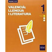 Lengua Valenciana Y Literatura. Libro Del Alumno. ESO 1 - Volumen Annual (Inicia Dual) - 9788467398649