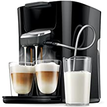 Philips Senseo HD7855 Independiente Máquina de café en cápsulas 1L Negro, Gris - Cafetera (Independiente, Máquina de café en cápsulas, Negro, Gris, Taza, 1 L, Dosis de café)