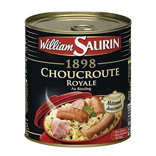 William Saurin Choucroute Royale 800g - ( Prix Unitaire ) - Envoi Rapide Et Soignée