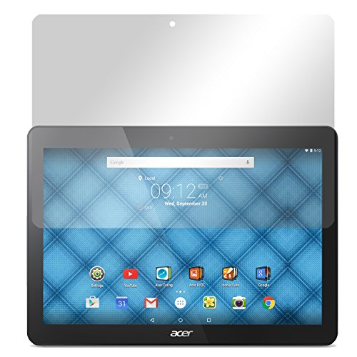Slabo 2 x Displayschutzfolie Acer Iconia One 10 (B3-A30) Displayschutz Schutzfolie Folie Crystal Clear unsichtbar Made IN Germany